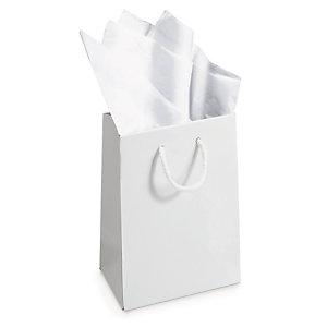Sacola papel branco